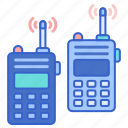 police, talkie, walkie icon
