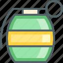 army, bomb, danger, explosion, explosive, grenade, police icon