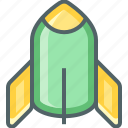 rocket, ship, space, spaceship, transport, transportation icon