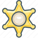 police, policeman, protection, safe, secure, security, sheriff icon
