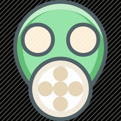 face, mask, smoke, smoking icon
