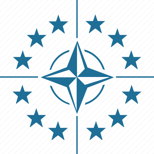 army, label, nato, sign, star, world icon