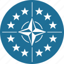 company, nato, organization, politic, world icon