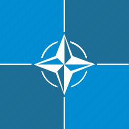 army, flag, nato, organization, politics, tile, world icon