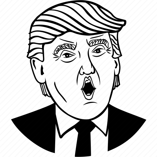 authoritarian, candidate, demagogue, donald trump, election, government, political, politician, president, presidential candidate, republican, trump icon