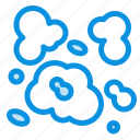 air, dust, environment, pollution icon