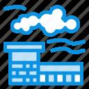 factory, industry, landscape