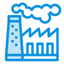 factory, pollution, production, smoke icon