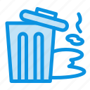 environment, garbage, pollution, trash icon