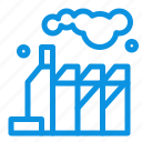 energy, factory, pollution icon