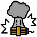 bomb, detonation, explosion, explosive, miscellaneous, terrorism, weapons icon