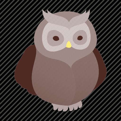 animal, bird, halloween, horror, night, owl, wise icon
