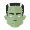frankenstein, frankenstein's monster, halloween, horror, monster, movie, undead icon