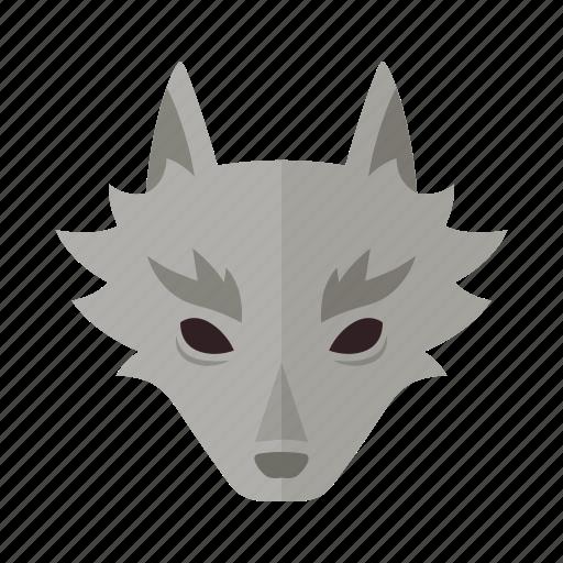 dog, halloween, horror, lycan, werewolf, wolf, wolves icon