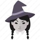 coven, evil, halloween, horror, magic, spell, witch icon