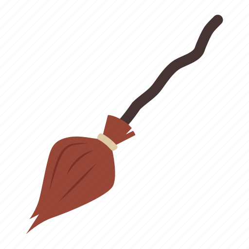 broom, broomstick, flying, halloween, horror, magic, witch icon