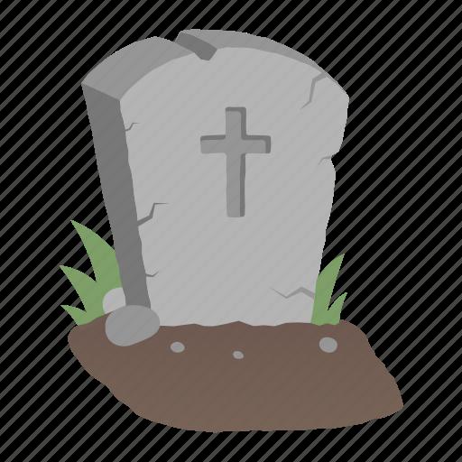 dead, grave, gravestone, halloween, headstone, horror, rip icon