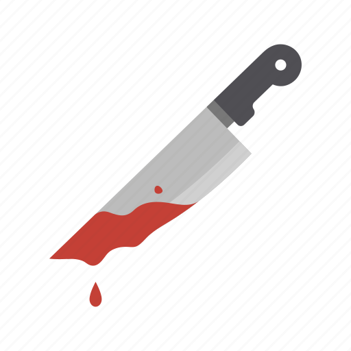 blood, halloween, horror, killer, knife, scary, weapon icon