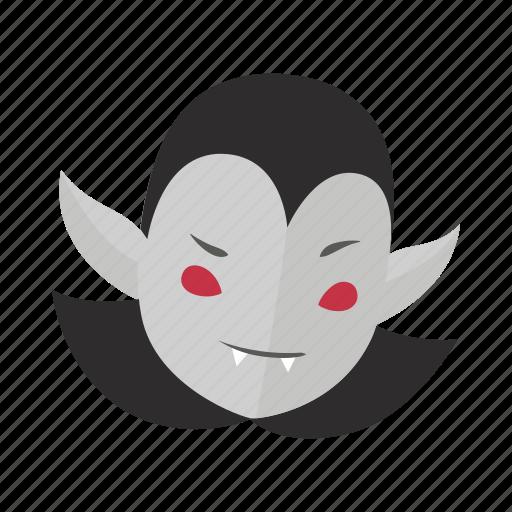 demon, dracula, evil, halloween, horror, monster, vampire icon