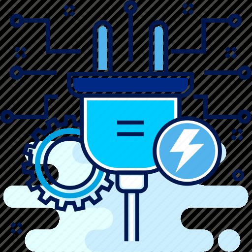 charge, charging, electronical, electronics, socket icon