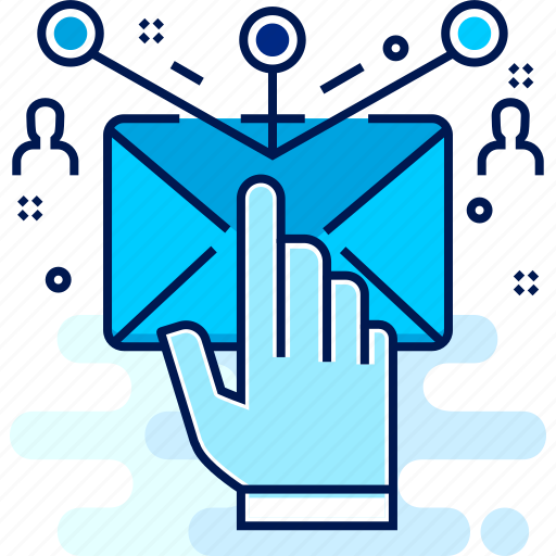 email, marketing, media, sms, social, socializing icon
