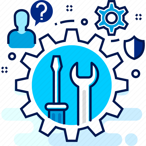 maintanence, repair, setting, support, technical icon