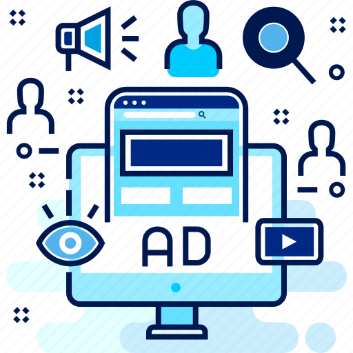 ad, advertisement, advertising, campaign, media icon