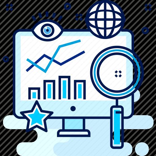 analysis, analytics, graph, growth, report, view icon