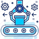 automatic, automation, robot, robotic, robotics icon