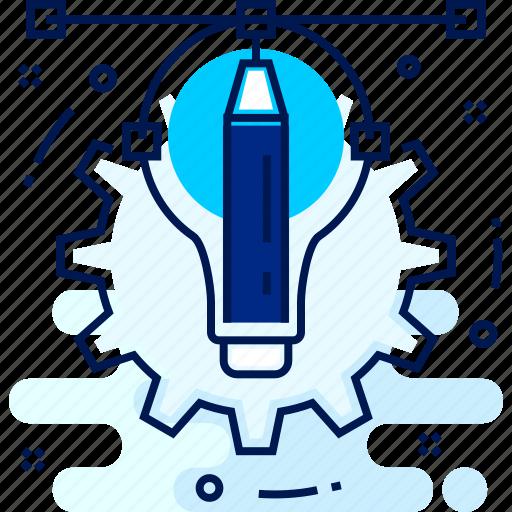 Setting, process, creative, settings icon