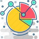 analysis, chart, data, graph, report, visualization icon