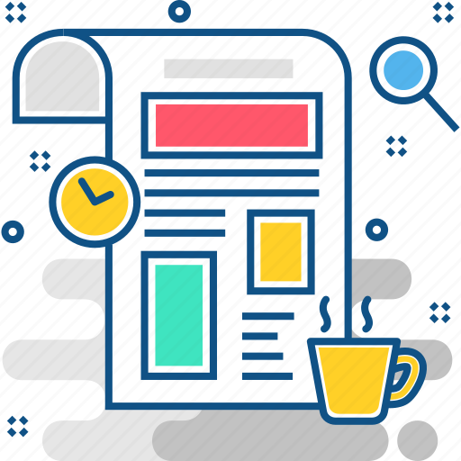 article, document, media, newspaper, paper, social, text icon