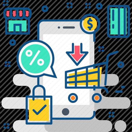 buy, ecommerce, m commerce, mcommerce, shop, shopping icon