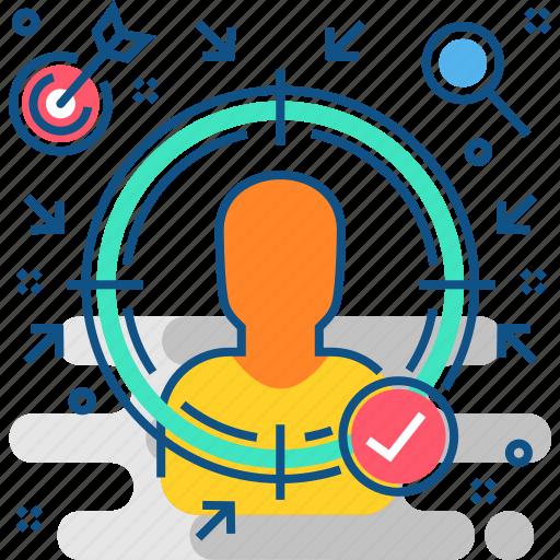 account, avatar, focus, on, person, profile, user icon