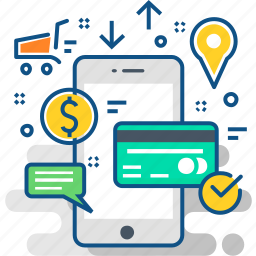 card, commerce, ecommerce, method, online, payments, shopping icon