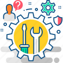 customer, help, seo, service, services, support, technical icon