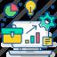 analytics, business, chart, development, graph, marketing, office icon