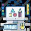 art, creative, design, graphic, layout, shape, web icon