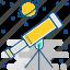 astronomy, planet, rocket, space, spaceship, telescope, world icon
