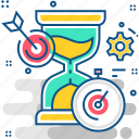 clock, hourglass, sand, stopwatch, time, timer, wait icon