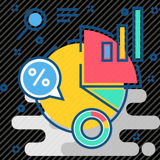 analysis, bar, chart, diagram, growth, pie, statistics icon