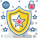 antivirus, firewall, protection, safety, security, virus icon