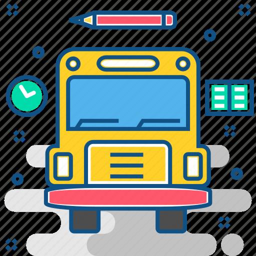 bus, delivery, transport, transportation, travel, van, vehicle icon