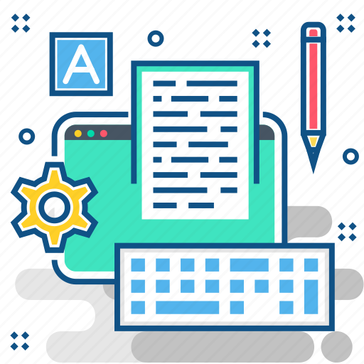 document, format, keyboard, page, paper, text, web icon