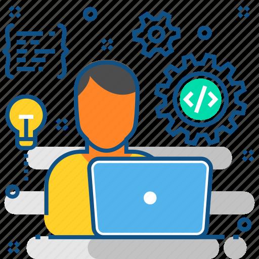 code, coding, development, programming, web, website icon