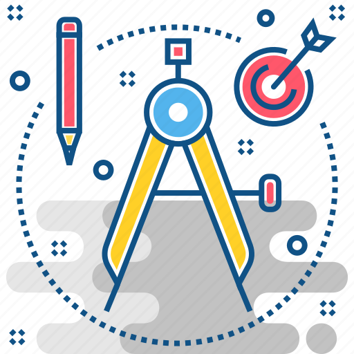 Precision, compass, geometry icon - Download on Iconfinder