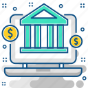 banking, online, bank, ebanking, ecommerce, online banking icon