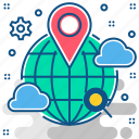 gps, locate us, location, map, navigation, pin icon