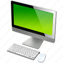computer, green, imac, mac icon