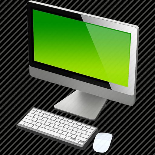 computer, green, imac, mac icon